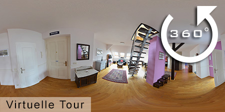360° Panorama für Apartment in Leipzig